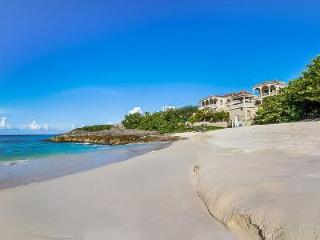 Sand Castle - Secluded Tuscan inspired 10,000 sq ft beachfront villa on the North Shore with pool - Limestone Bay vacation rentals