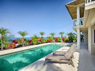 Large 4 bedroom luxurious home with ocean views and pool in gated community-PHKEST4 - Keauhou vacation rentals