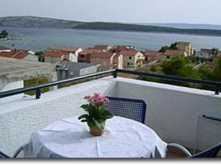 Apartment for 2 persons with see view - Rab vacation rentals