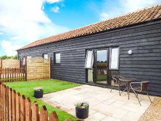 TAWNY OWL BARN, romantic cottage, character features, all ground floor, private patio, pet-friendly studio cottage near Shipdham, Ref. 913977 - Watton vacation rentals