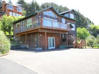 Beautiful Ocean View, Pet Friendly Home with Game Room - Lincoln City vacation rentals