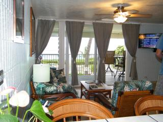 BEACHFRONT Condo- JULY $135 Special- SANDY Beach - Hauula vacation rentals