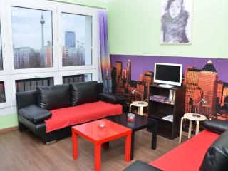 top view + city ALEX 4BR apartment - Berlin vacation rentals