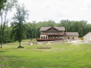 Branson home on private 57 acred woods - Missouri vacation rentals