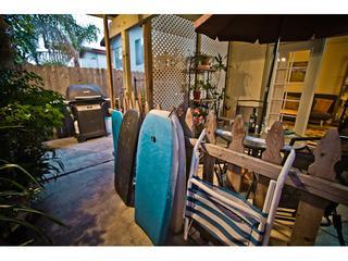 Private Entry and Patio - Charming Private Mission Bay Cottage - Pacific Beach - rentals