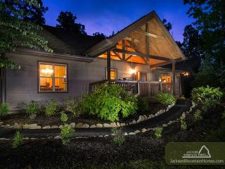 Riversong Romance  Luxury  Mtn View  Hot Tub  Fenced Yard  Free Nights - Gatlinburg vacation rentals