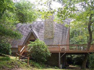 Meadows Cottage a story Book A-Frame in wooded setting with Grandfather views - Blowing Rock vacation rentals