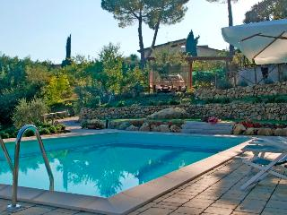 Tuscan apartment in rural setting with easy access to nearby cities, property has private garden and shared pool - Castel San Gimignano vacation rentals