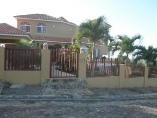 panoramic view house with 3 bedrooms, STAR HILLS - Puerto Plata vacation rentals