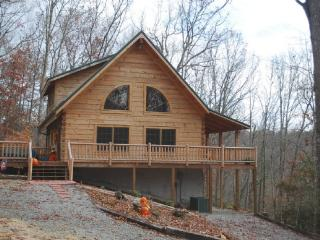 Running Bear-Private Log Cabin_Private_Log Cabin_WIFI_Pet Friendly_Upscale_Air Hockey_Fire pit_ - Crumpler vacation rentals