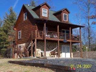 Backside of the Moon_Cabin_Long Range Views_Hot Tub_Pool Table_WiFi_Private - West Jefferson vacation rentals
