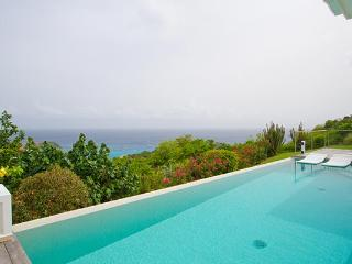 Perched hillside with splendid view of twinkling harbor lights WV ANK - Colombier vacation rentals