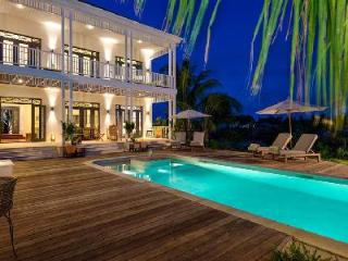 Luxury family home Saving Grace in private cove with pool, staff & sunset views - Providenciales vacation rentals