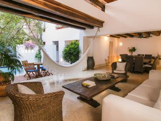 Open-Air, 3 Bedroom Home with Terrace and Pool in Old Town - Cartagena vacation rentals