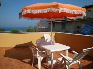 Pretty apartment with big terrace sea view - Trappeto vacation rentals