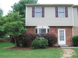3 BR townhouse in Blacksburg, Virginia, USA - Blacksburg vacation rentals