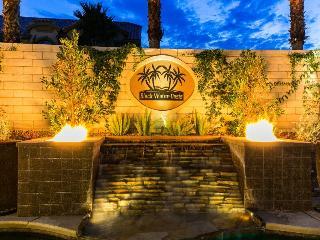 Las Vegas Mansion The Black Water Oasis Sleeps 14 - Las Vegas vacation rentals