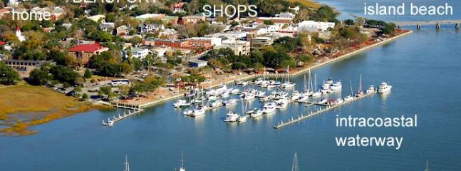 Beaufort Historic District-walk everywhere! - Historic District-Walk Everywhere + Free Bikes - Beaufort - rentals
