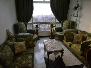 fully furnished flat Dokki heart of Cairo 3BR/2BA - Cairo vacation rentals