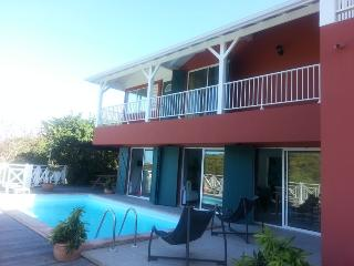 Ocean view villa with private pool sleeps 6-12 - Oyster Pond vacation rentals
