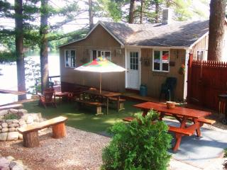 Waterfront Cabin on Crystal Clear Barkers Pond - Lebanon vacation rentals