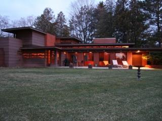 Frank Lloyd Wright  designed Usonian Masterpiece - Two Rivers vacation rentals