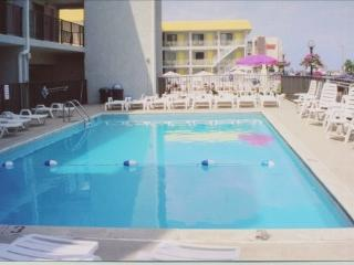 Olympic Garden Oceanfront Condo w/ Heated Pool - North Wildwood vacation rentals