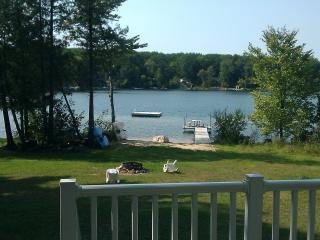 Beautiful Cottage on Little Bass Lake w/ Beach! - Branch vacation rentals
