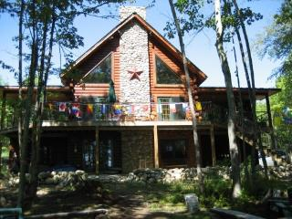 Cobbossee Log Cabin on Lakefront - Wayne vacation rentals