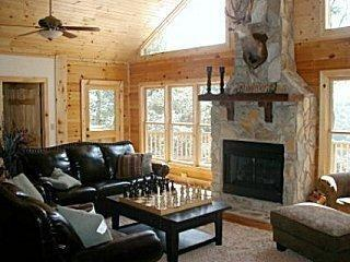 Luxury Mtn Home 5 & 3 Game Room Hot Tub Great View - Waynesville vacation rentals