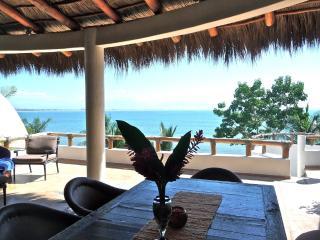 Summer DEAL $2000/mo: Beachfront, Infiniti Pool! - La Cruz de Huanacaxtle vacation rentals