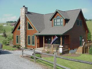 Great Cabin in Blue Ridge Mountains - Grassy Creek vacation rentals