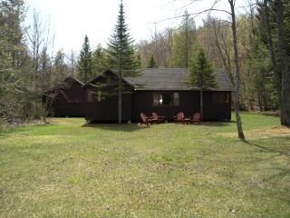 Adirondack lakeside camp - 300 ft lake frontage - Piseco vacation rentals