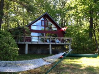 Lake House with over 200 feet of waterfront beach - Casco vacation rentals