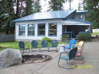 TWIN LAKES, IDAHO WATERFRONT VACATION HOME - Blanchard vacation rentals