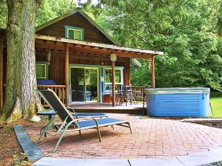 Secluded Cabin on 5 Riverfront Acres-Sauna/Hot Tub - Skykomish vacation rentals