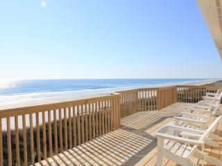Oceanfront, 5 BR, Hot Tub, Pet Friendly - Topsail Beach vacation rentals