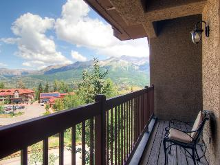 Congratulations. You made it to the top. - Mountain village, private balcony, community hot tub and game room access - The Summit at Lorian - Mountain Village vacation rentals