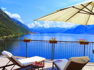 2 Bedroom lakeside penthouse apartment - Argegno vacation rentals