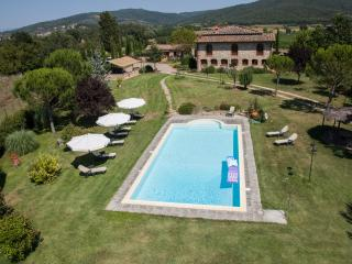 Tuscan villa in Chianti boasts private outdoor pool, jacuzzi, gardens and terrace - Castelnuovo Berardenga vacation rentals