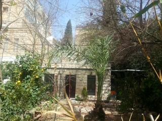 Charming garden apt in TALBIYA - Jerusalem vacation rentals