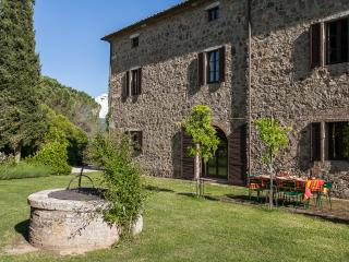 Ancient villa with private pool, incredible views in Siena, sleeps 9 - Montalcino vacation rentals