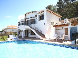 Seaview, WiFi, AC, heated pool, -10% Early Booking - Denia vacation rentals