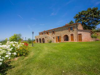 Il Cipresso apt in farmhouse Casa Contea with pool - Cortona vacation rentals