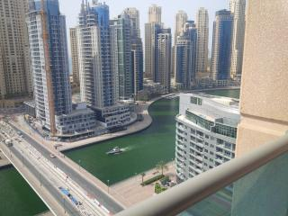 Excellent 1 br apt with marina & sea view nr metro - Dubai vacation rentals