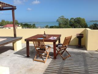 Garden studio 4 with Sea views on roof deck - Le Morne vacation rentals