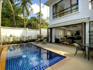 3-bedrm Contemporary Pool Villa at Beach Resort - Koh Samui vacation rentals