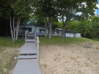Walk to Casino!  New Pool Table! New 150 ft dock! - Suttons Bay vacation rentals