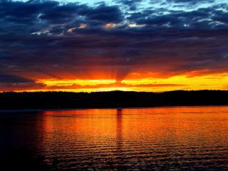 Waterfront Cabin, kayaking, bird watching, La Conner - Stanwood vacation rentals