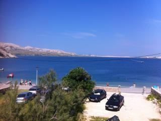 Studio apartment with sea view - Island of Pag vacation rentals